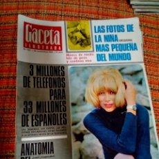 Coleccionismo de Revista Gaceta Ilustrada: REVISTA GACETA ILUSTRADA. Lote 170026025