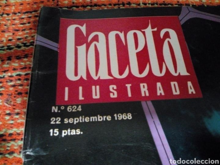 Coleccionismo de Revista Gaceta Ilustrada: Revista Gaceta ilustrada - Foto 2 - 170026146