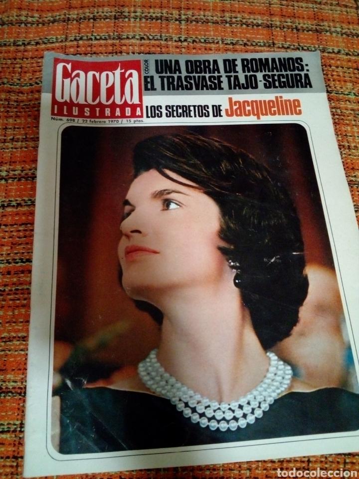 REVISTA GACETA ILUSTRADA (Coleccionismo - Revistas y Periódicos Modernos (a partir de 1.940) - Revista Gaceta Ilustrada)