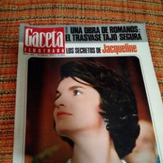 Coleccionismo de Revista Gaceta Ilustrada: REVISTA GACETA ILUSTRADA. Lote 170026301
