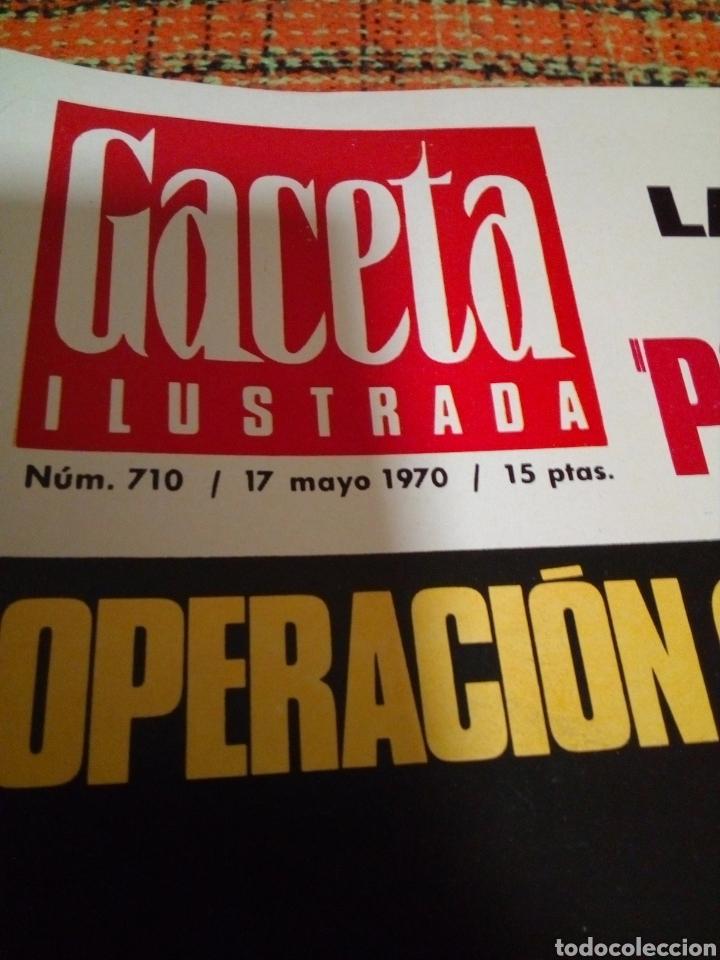 Coleccionismo de Revista Gaceta Ilustrada: Revista Gaceta ilustrada - Foto 2 - 170026997