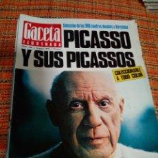 Coleccionismo de Revista Gaceta Ilustrada: REVISTA GACETA ILUSTRADA PICASSO. Lote 170027198