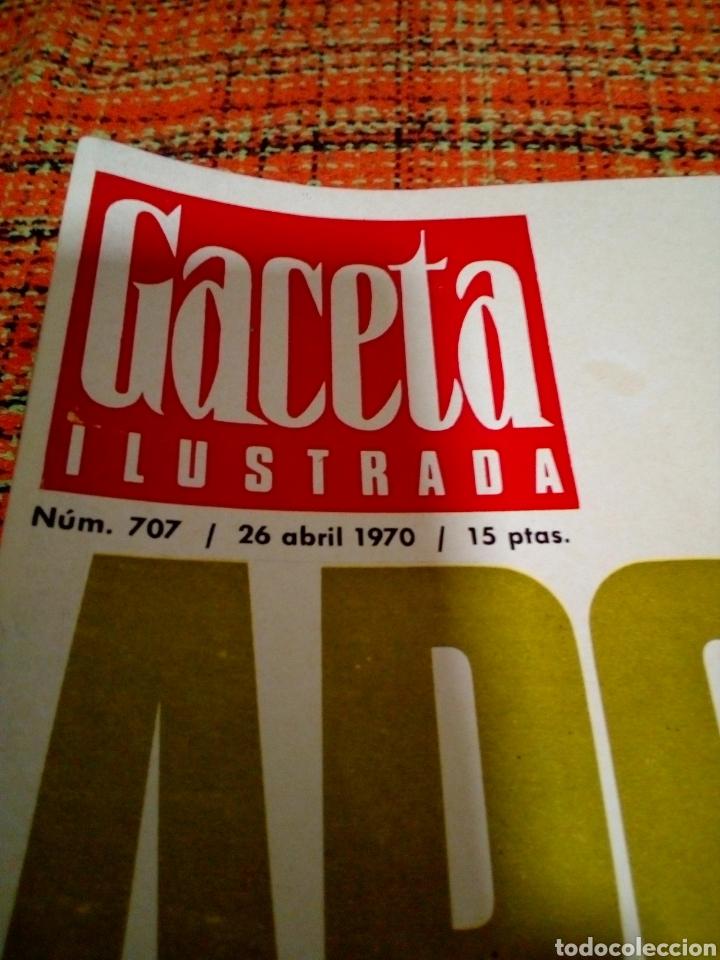 Coleccionismo de Revista Gaceta Ilustrada: Revista Gaceta ilustrada - Foto 2 - 170027285