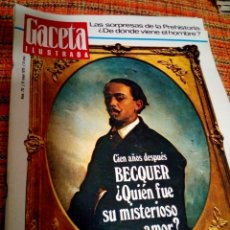 Coleccionismo de Revista Gaceta Ilustrada: REVISTA GACETA ILUSTRADA. Lote 170027352
