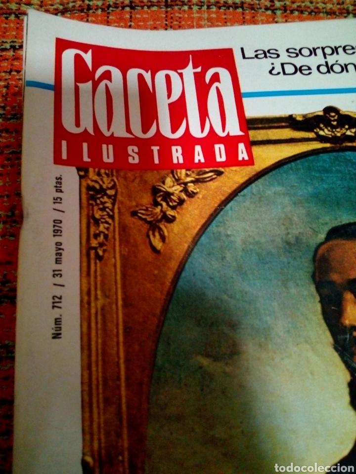Coleccionismo de Revista Gaceta Ilustrada: Revista Gaceta ilustrada - Foto 2 - 170027352
