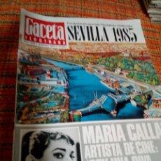 Coleccionismo de Revista Gaceta Ilustrada: REVISTA GACETA ILUSTRADA. Lote 170027474
