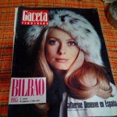Coleccionismo de Revista Gaceta Ilustrada: REVISTA GACETA ILUSTRADA. Lote 170059593