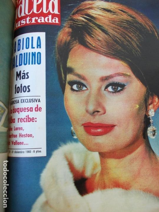 Coleccionismo de Revista Gaceta Ilustrada: REVISTA GACETA ILUSTRADA 1960 COMPLETO TODO EL AÑO MAS DE 50 REVISTAS FOTOS DE TODAS LAS PORTADAS - Foto 2 - 170312956