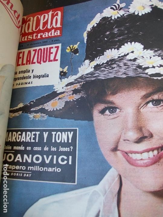 Coleccionismo de Revista Gaceta Ilustrada: REVISTA GACETA ILUSTRADA 1960 COMPLETO TODO EL AÑO MAS DE 50 REVISTAS FOTOS DE TODAS LAS PORTADAS - Foto 5 - 170312956