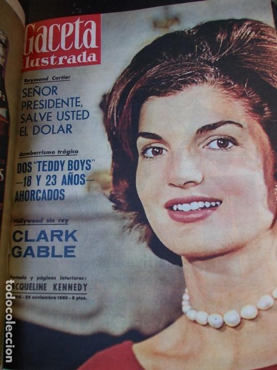 Coleccionismo de Revista Gaceta Ilustrada: REVISTA GACETA ILUSTRADA 1960 COMPLETO TODO EL AÑO MAS DE 50 REVISTAS FOTOS DE TODAS LAS PORTADAS - Foto 7 - 170312956