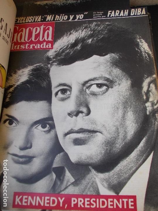 Coleccionismo de Revista Gaceta Ilustrada: REVISTA GACETA ILUSTRADA 1960 COMPLETO TODO EL AÑO MAS DE 50 REVISTAS FOTOS DE TODAS LAS PORTADAS - Foto 9 - 170312956
