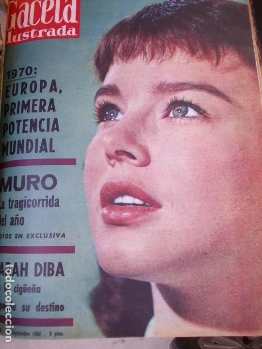 Coleccionismo de Revista Gaceta Ilustrada: REVISTA GACETA ILUSTRADA 1960 COMPLETO TODO EL AÑO MAS DE 50 REVISTAS FOTOS DE TODAS LAS PORTADAS - Foto 18 - 170312956