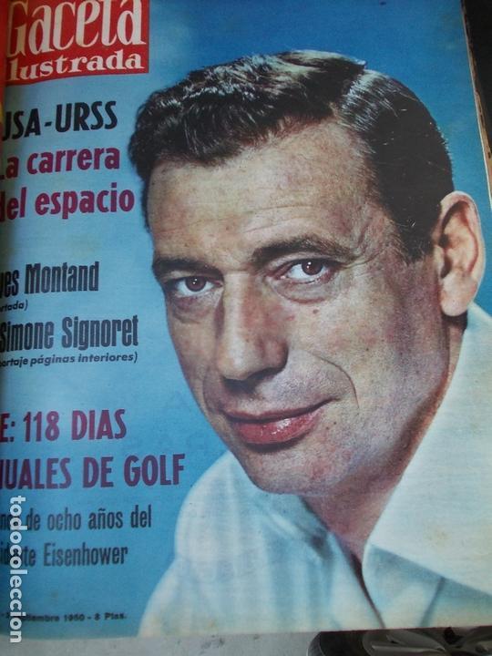 Coleccionismo de Revista Gaceta Ilustrada: REVISTA GACETA ILUSTRADA 1960 COMPLETO TODO EL AÑO MAS DE 50 REVISTAS FOTOS DE TODAS LAS PORTADAS - Foto 19 - 170312956