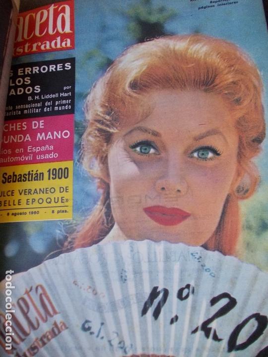 Coleccionismo de Revista Gaceta Ilustrada: REVISTA GACETA ILUSTRADA 1960 COMPLETO TODO EL AÑO MAS DE 50 REVISTAS FOTOS DE TODAS LAS PORTADAS - Foto 23 - 170312956