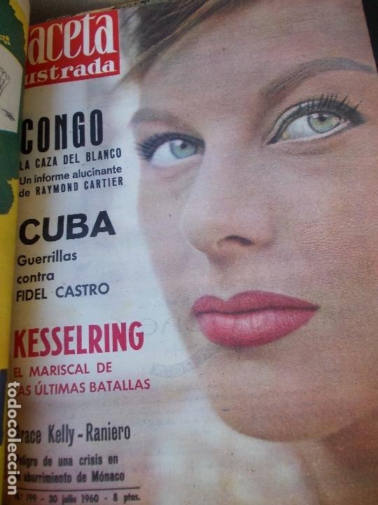 Coleccionismo de Revista Gaceta Ilustrada: REVISTA GACETA ILUSTRADA 1960 COMPLETO TODO EL AÑO MAS DE 50 REVISTAS FOTOS DE TODAS LAS PORTADAS - Foto 24 - 170312956