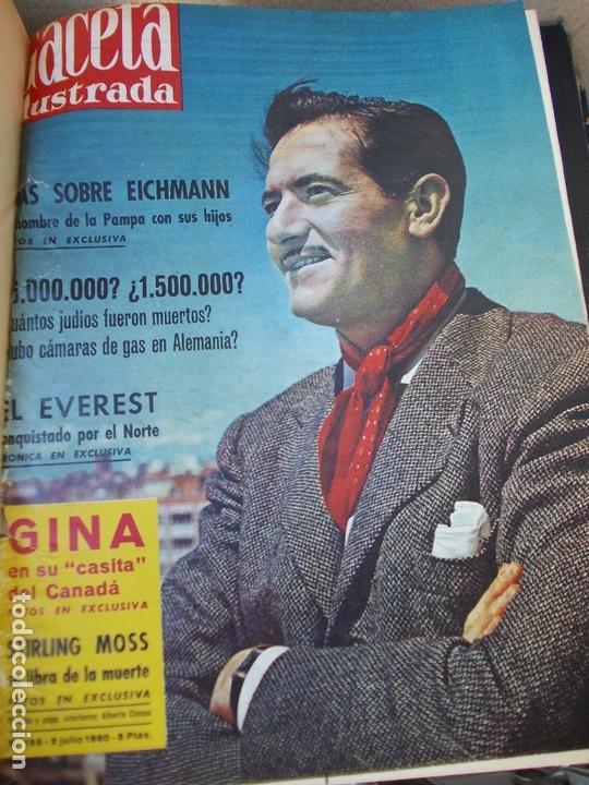 Coleccionismo de Revista Gaceta Ilustrada: REVISTA GACETA ILUSTRADA 1960 COMPLETO TODO EL AÑO MAS DE 50 REVISTAS FOTOS DE TODAS LAS PORTADAS - Foto 28 - 170312956