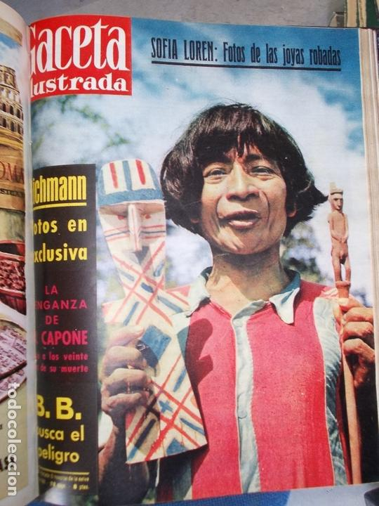 Coleccionismo de Revista Gaceta Ilustrada: REVISTA GACETA ILUSTRADA 1960 COMPLETO TODO EL AÑO MAS DE 50 REVISTAS FOTOS DE TODAS LAS PORTADAS - Foto 31 - 170312956