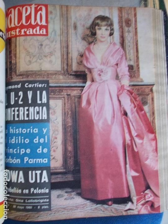 Coleccionismo de Revista Gaceta Ilustrada: REVISTA GACETA ILUSTRADA 1960 COMPLETO TODO EL AÑO MAS DE 50 REVISTAS FOTOS DE TODAS LAS PORTADAS - Foto 33 - 170312956