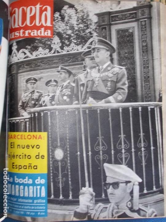 Coleccionismo de Revista Gaceta Ilustrada: REVISTA GACETA ILUSTRADA 1960 COMPLETO TODO EL AÑO MAS DE 50 REVISTAS FOTOS DE TODAS LAS PORTADAS - Foto 35 - 170312956