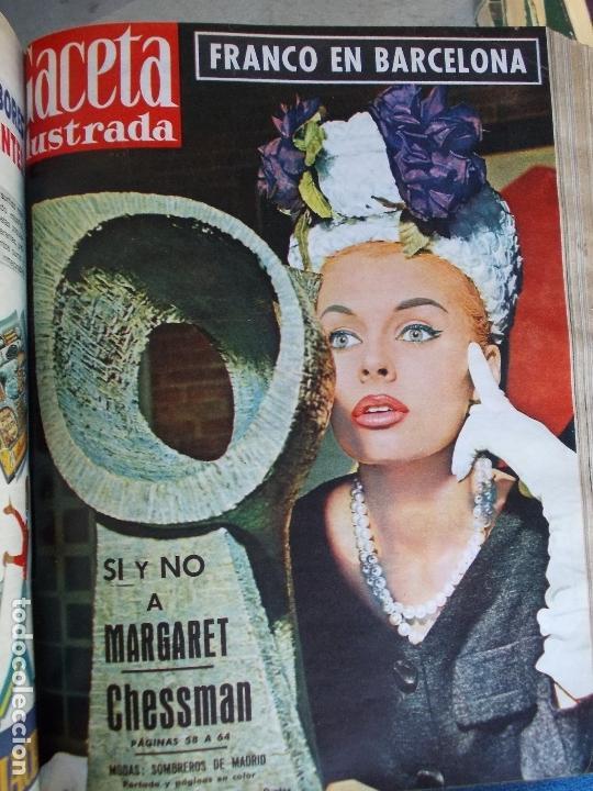 Coleccionismo de Revista Gaceta Ilustrada: REVISTA GACETA ILUSTRADA 1960 COMPLETO TODO EL AÑO MAS DE 50 REVISTAS FOTOS DE TODAS LAS PORTADAS - Foto 36 - 170312956