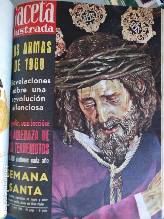 Coleccionismo de Revista Gaceta Ilustrada: REVISTA GACETA ILUSTRADA 1960 COMPLETO TODO EL AÑO MAS DE 50 REVISTAS FOTOS DE TODAS LAS PORTADAS - Foto 40 - 170312956