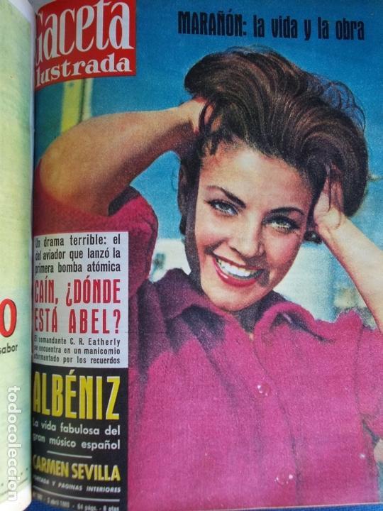 Coleccionismo de Revista Gaceta Ilustrada: REVISTA GACETA ILUSTRADA 1960 COMPLETO TODO EL AÑO MAS DE 50 REVISTAS FOTOS DE TODAS LAS PORTADAS - Foto 41 - 170312956