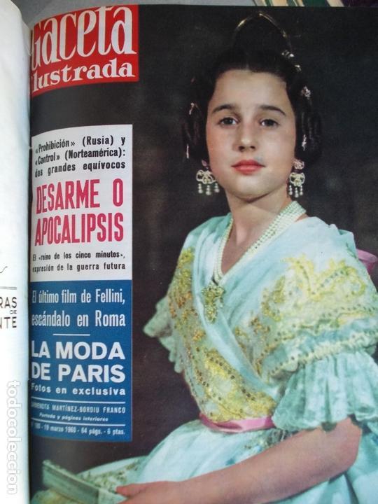 Coleccionismo de Revista Gaceta Ilustrada: REVISTA GACETA ILUSTRADA 1960 COMPLETO TODO EL AÑO MAS DE 50 REVISTAS FOTOS DE TODAS LAS PORTADAS - Foto 43 - 170312956
