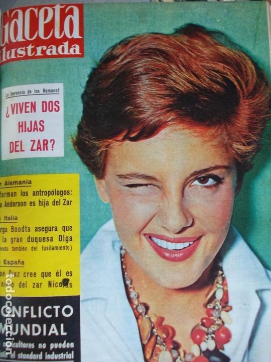 Coleccionismo de Revista Gaceta Ilustrada: REVISTA GACETA ILUSTRADA 1960 COMPLETO TODO EL AÑO MAS DE 50 REVISTAS FOTOS DE TODAS LAS PORTADAS - Foto 45 - 170312956