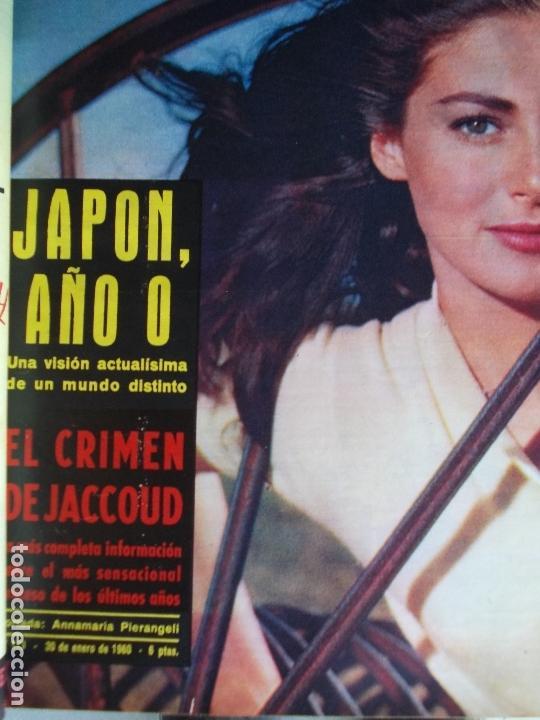 Coleccionismo de Revista Gaceta Ilustrada: REVISTA GACETA ILUSTRADA 1960 COMPLETO TODO EL AÑO MAS DE 50 REVISTAS FOTOS DE TODAS LAS PORTADAS - Foto 50 - 170312956