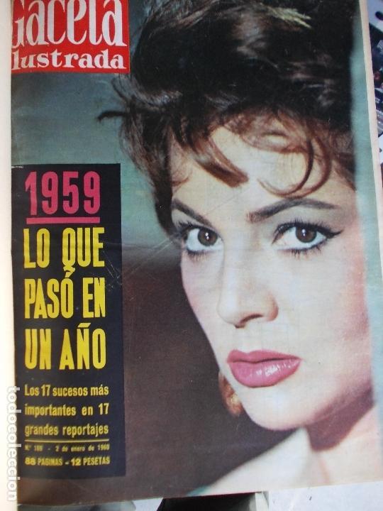 Coleccionismo de Revista Gaceta Ilustrada: REVISTA GACETA ILUSTRADA 1960 COMPLETO TODO EL AÑO MAS DE 50 REVISTAS FOTOS DE TODAS LAS PORTADAS - Foto 54 - 170312956