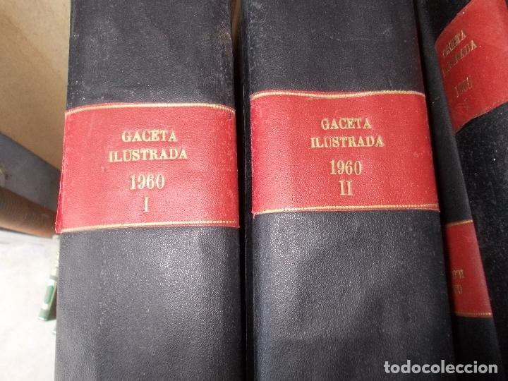 REVISTA GACETA ILUSTRADA 1960 COMPLETO TODO EL AÑO MAS DE 50 REVISTAS FOTOS DE TODAS LAS PORTADAS (Coleccionismo - Revistas y Periódicos Modernos (a partir de 1.940) - Revista Gaceta Ilustrada)