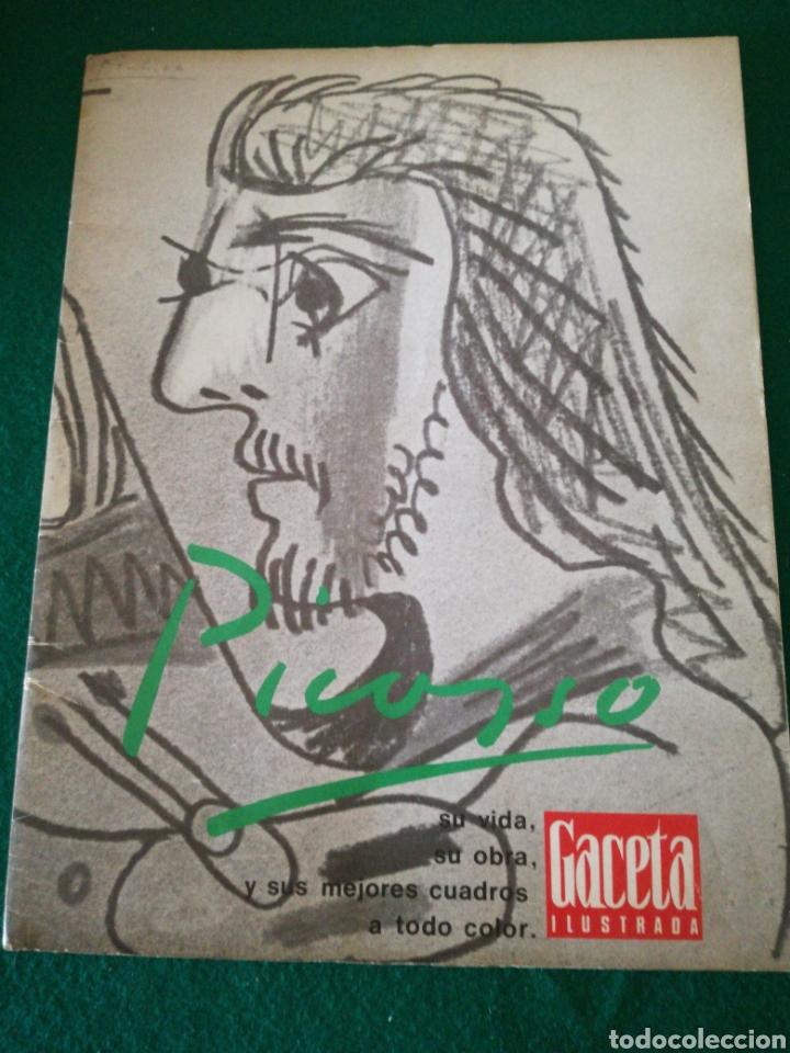 GACETA ILUSTRADA NÚMERO EXTRAORDINARIO DE NAVIDAD 1971 PICASSO (Coleccionismo - Revistas y Periódicos Modernos (a partir de 1.940) - Revista Gaceta Ilustrada)