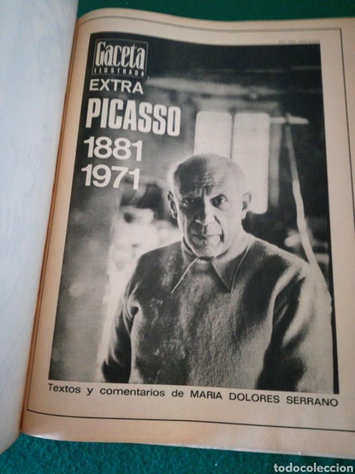 Coleccionismo de Revista Gaceta Ilustrada: GACETA ILUSTRADA NÚMERO EXTRAORDINARIO DE NAVIDAD 1971 PICASSO - Foto 3 - 171305122