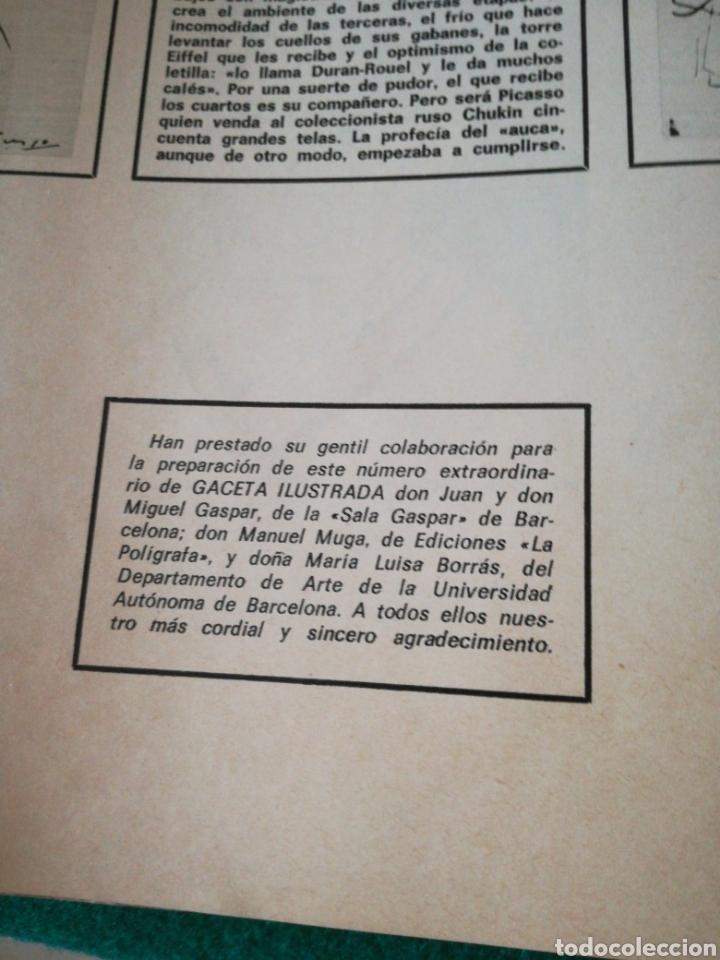 Coleccionismo de Revista Gaceta Ilustrada: GACETA ILUSTRADA NÚMERO EXTRAORDINARIO DE NAVIDAD 1971 PICASSO - Foto 8 - 171305122