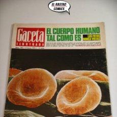 Collectionnisme de Magazine Gaceta Ilustrada: GACETA ILUSTRADA Nº 700, 1970, LOS PANTERAS NEGRAS, JOSE LUIS ARRABAL, TALIDOMIDA, SR-71, . Lote 176047643