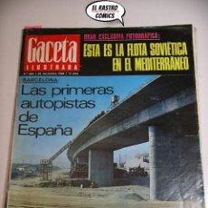 Colecionismo da Revista Gaceta Ilustrada: GACETA ILUSTRADA Nº 633 1968, RAMÓN MENENDEZ PIDAL, BRUJAS TALGO ALUCINÓGENOS, JOSIP BROZ TITO, MISS. Lote 176053560