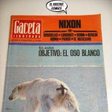 Collectionnisme de Magazine Gaceta Ilustrada: GACETA ILUSTRADA Nº 648, 1969, DAHLIA LAVI, ALEJANDRO GOICOECHEA, NIXON, DROPPERS, KENNEDY. Lote 176376565