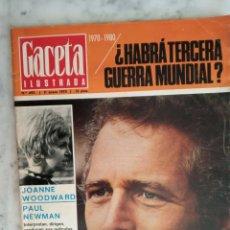 Coleccionismo de Revista Gaceta Ilustrada: GACETA ILUSTRADA Nº 677 -CASSIUS CLAY- HITLER - JOANNE WOODWARD - PAUL NEWMAN - AÑO 1970. Lote 178712802