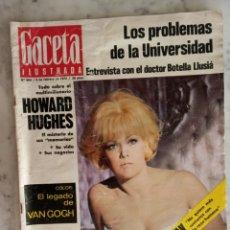 Coleccionismo de Revista Gaceta Ilustrada: GACETA ILUSTRADA Nº 800 - AÑO 1972 - VAN GOGH - KIM NOVAK - DRACULA FUE UNA MUJER -. Lote 178753452