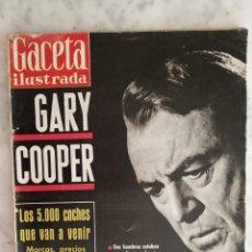 Coleccionismo de Revista Gaceta Ilustrada: GACETA ILUSTRADA Nº 240 - AÑO 1961 - GARY COOPER -. Lote 178754792