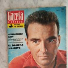 Coleccionismo de Revista Gaceta Ilustrada: GACETA ILUSTRADA Nº 857 - AÑO 1973 - MONTGOMERY CLIFT - GOLDA MEIR - BRIGITTE BARDOT -. Lote 178757291