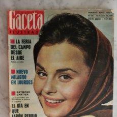 Coleccionismo de Revista Gaceta Ilustrada: GACETA ILUSTRADA Nº 874 - AÑO 1973 - PORTADA ROCIO DURCAL- NATHALIE WOOD - KIM NOVAK - GRETA GARBO -. Lote 178759570