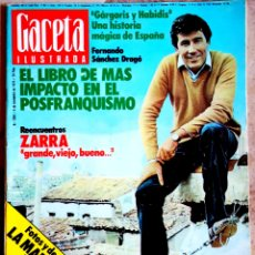 Coleccionismo de Revista Gaceta Ilustrada: GACETA ILUSTRADA - N° 1204 - 04 11 1979. Lote 178790583