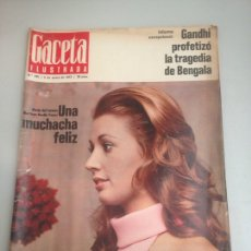 Coleccionismo de Revista Gaceta Ilustrada: REVISTA GACETA. Lote 180034462