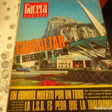 Coleccionismo de Revista Gaceta Ilustrada: GACETA ILUSTRADA Nº 570, GIBRALTAR. Lote 182265973