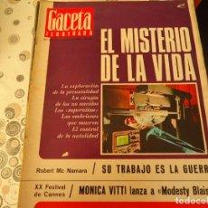 Coleccionismo de Revista Gaceta Ilustrada: GACETA ILUSTRADA Nº 501. Lote 182266100