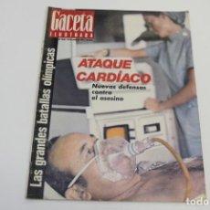 Coleccionismo de Revista Gaceta Ilustrada: GACETA ILUSTRADA Nº820 JUNIO 1972 - LAS GRANDES BATALLAS OLÍMPICAS - SEAT 127. Lote 187423231