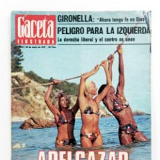 Coleccionismo de Revista Gaceta Ilustrada: LA GACETA ILUSTRADA - Nº 1025 - 1976. Lote 187461287