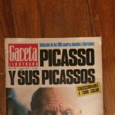 Coleccionismo de Revista Gaceta Ilustrada: GACETA ILUSTRADA Nº 708 - MAYO DE 1970. Lote 187529231