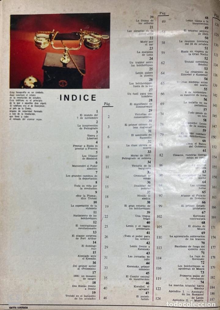 Coleccionismo de Revista Gaceta Ilustrada: LA GACETA ILUSTRADA. LA REVOLUCION RUSA + SVETLANA STALIN 20 CARTAS A UN AMIGO I, II Y III. 1967.VER - Foto 11 - 189249561